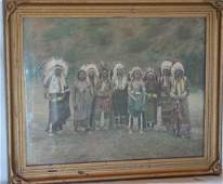 1055: Native American Indian photograph