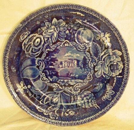 24: Historic Staffordshire plate