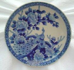 1018: 19th c. Imari porcelain charger