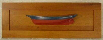 1019: half model of sloop