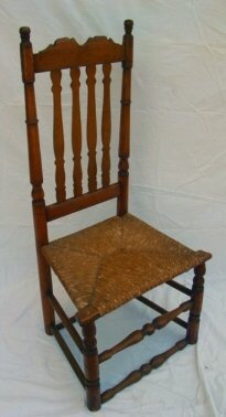 1023: Bannister back side chair