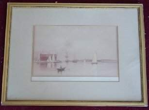 1047: CH Gifford watercolor painting