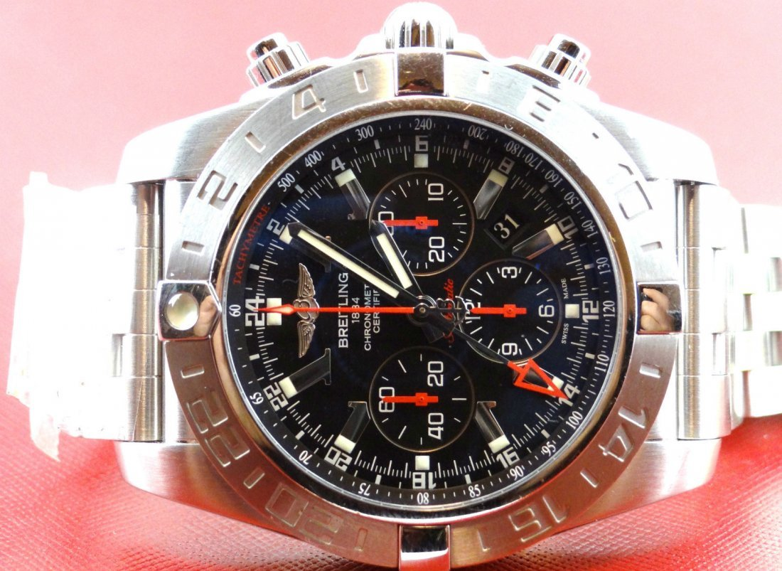 Breitling Chronomat GMT 47MM Limited Edition Mens Watch