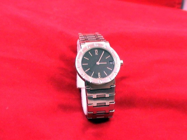 Bvlgari BB 30 SSD Stainless Steel Mid size 33mm unisex