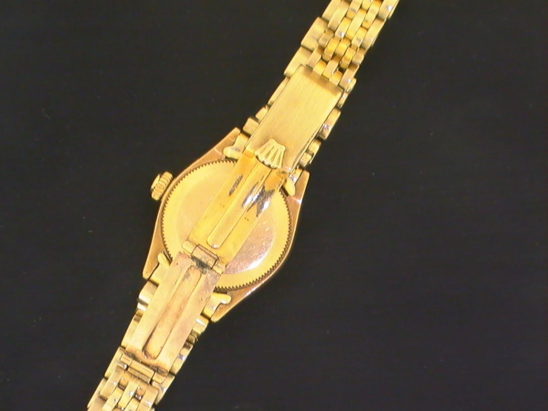 Rolex Oyster Perpetual 18K Gold Ref 6509 Circa 1950s - 2