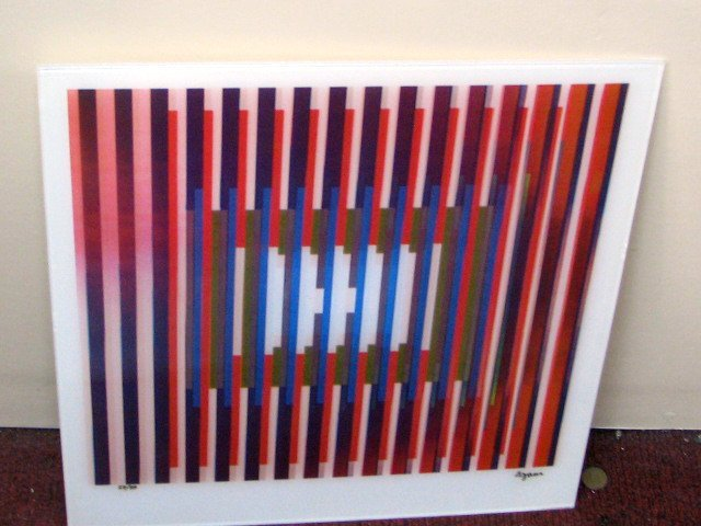 """AGAMOGRAPH, """"INTENSE PRAYER TEF3"""" SIGNED & NUMBERED"""