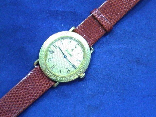 Art deco Corum Vintage mens watch  18k Yellow Gold