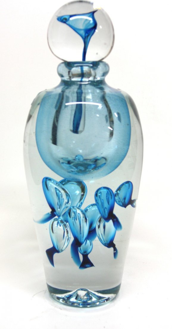 JEAN CLAUDE NOVARO HAND BLOWN GLASS VASE EXTRA LARGE PE