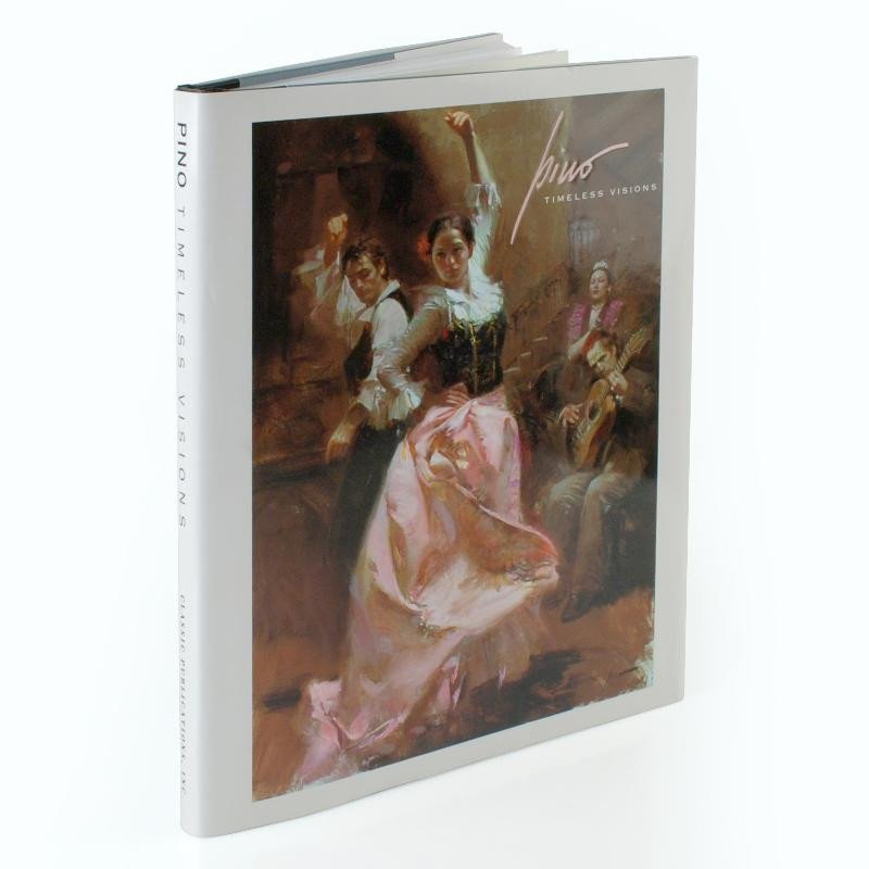 """BRAND NEW COLOR ART BOOK BY PINO \\\\\\\""""TIMELESS VISIO"""
