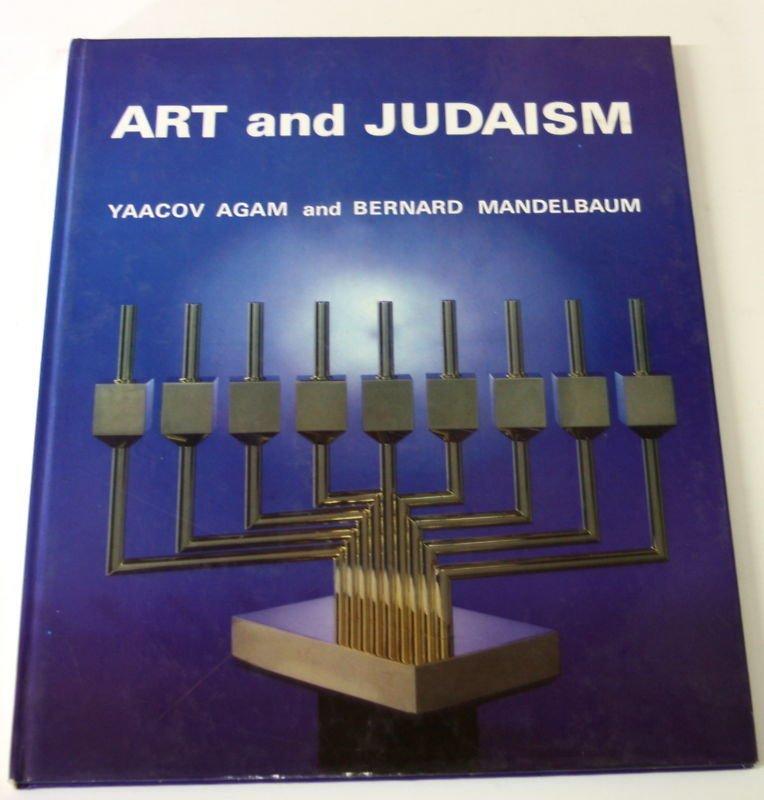YAACOV AGAM ART AND JUDAISM COLORED BOOK JUDAICA