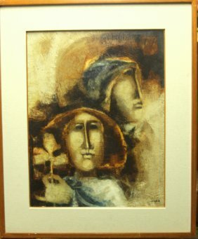 SUNOL ALVAR ORIGINAL ONE OF A KIND OIL PAINTING
