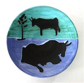 Pablo Picasso ceramic plate