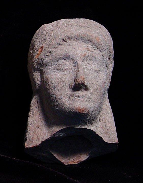 ARCHAIC GREEK VOTIVE TERRA COTTA GODDESS