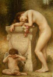 ORIGINAL OIL AFTER BOUGUEREAU