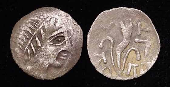 RARE KINGS OF SCYTHIA SILVER COIN