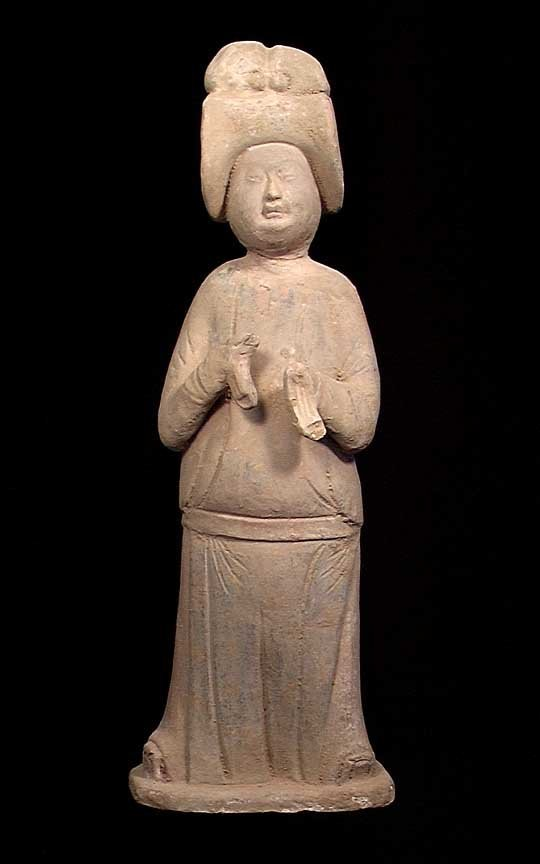 LARGE TANG DYNASTY COURT LADY