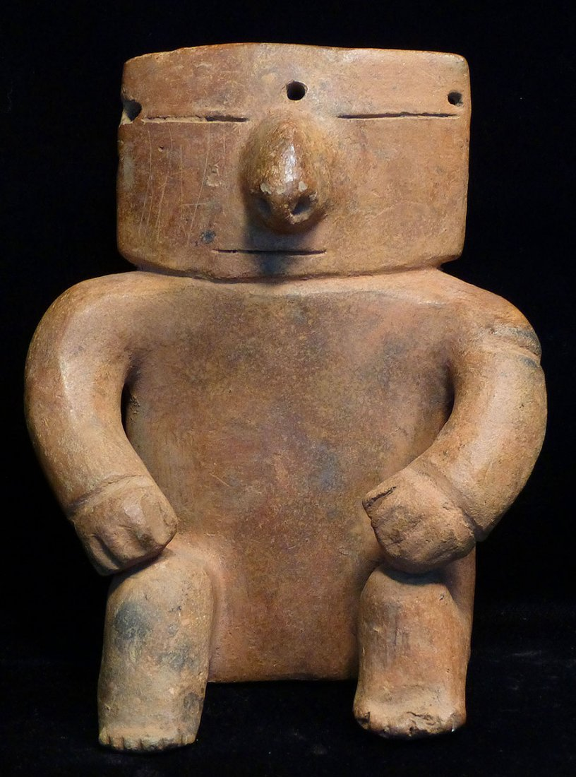 IMPOSING QUIMBAYA SLAB FIGURE