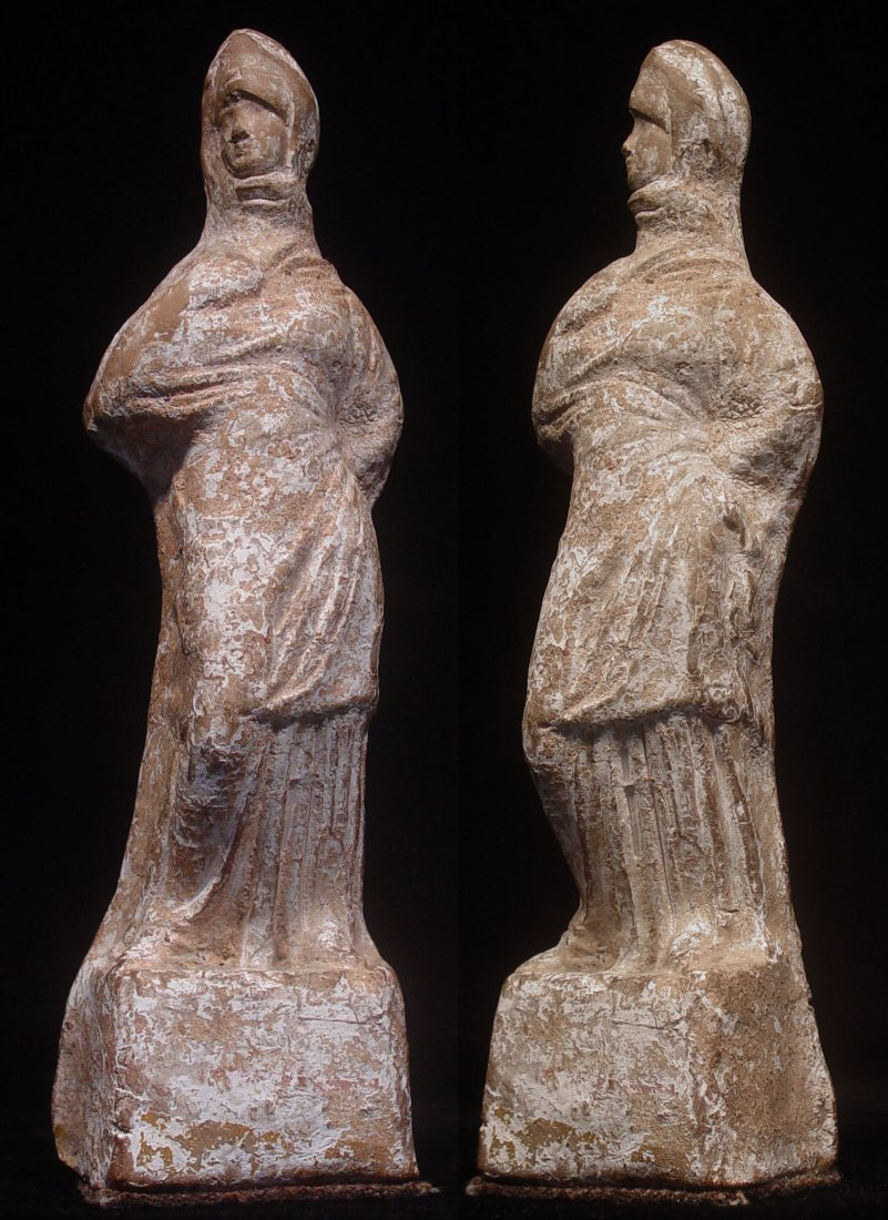 ELEGANT TANAGRA GREEK LADY
