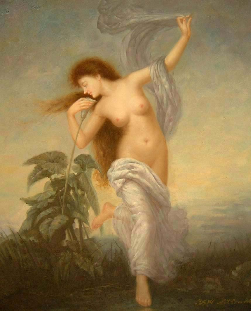 NUDE GODDESS OF DAWN