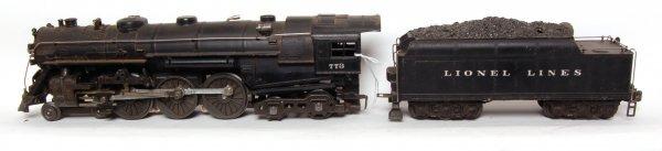 1302: Lionel 1950 version 773 Hudson and 2426W tender