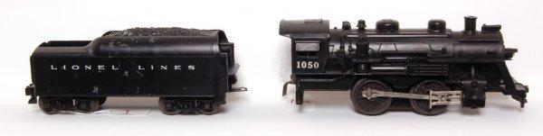 1: Unusual Lionel 1050 steam loco and tender