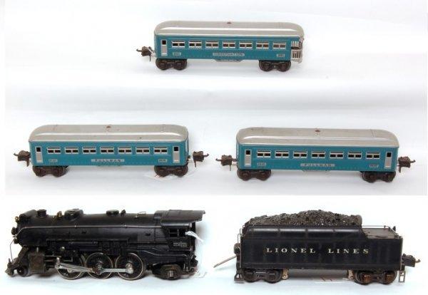4: Lionel prewar 225E, 2235W, 2630, 2630 and 2631