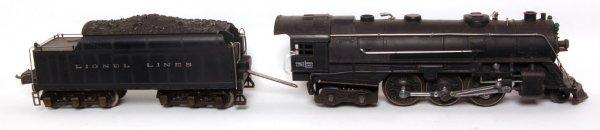 12: Lionel prewar 226E steam engine and tender