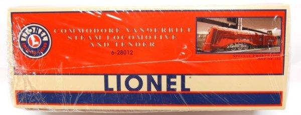 15: Lionel 28012 RED Commodore Vanderbilt