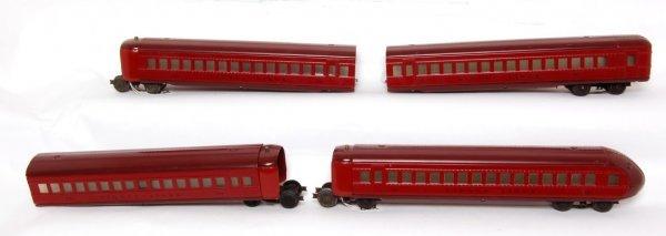 22: Restored Lionel prewar Rail Chief cars