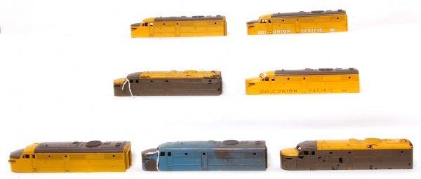 58: Lot Lionel 2023 Union Pacific errors, test shots