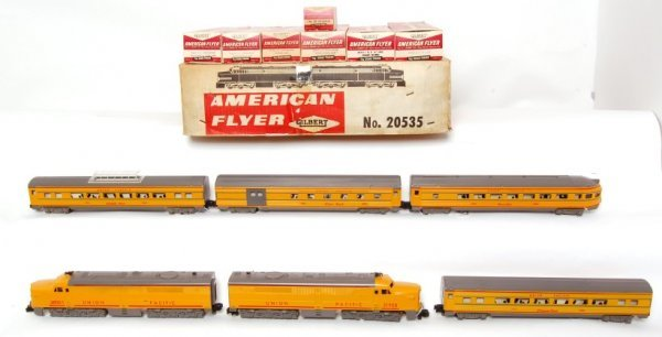 152: American Flyer 20535 Pony Express boxed set