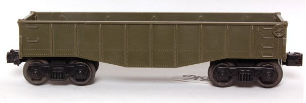 816: Lionel unlettered olive drab gondola