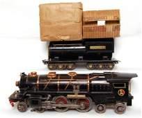 1067: Lionel prewar 400E steam loco and tender, OB