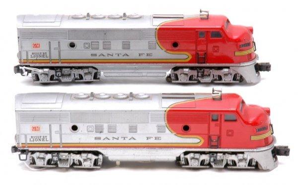 2000: Lionel 2333 Santa Fe F3 AA Diesels