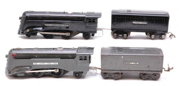 2004: Lionel Gunmetal 1689E 1689W Black 1689E 1989T