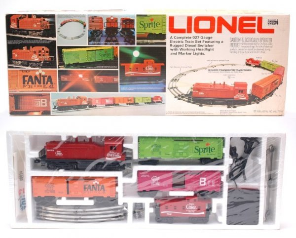 2009: Lionel 1463 Coca Cola Special Set Mint in Set Box