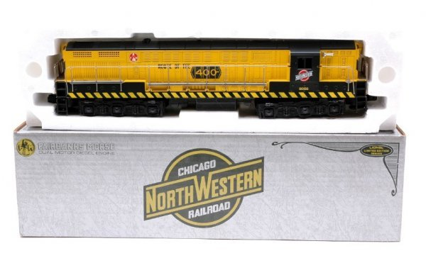 2011: Lionel 8056 C NW FM Trainmaster MINT OB