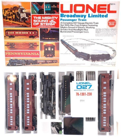 2014: Lionel 1487 Broadway Limited Pass Set MINT Boxed