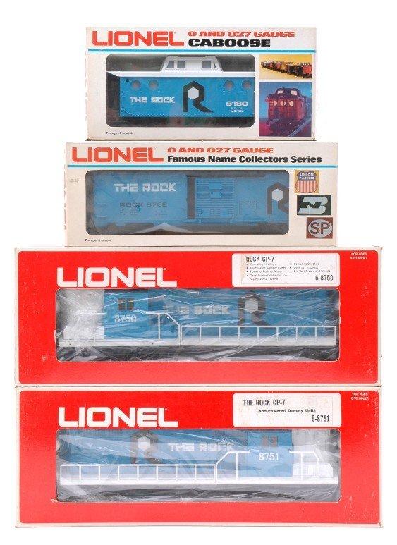 2018: Lionel Rock 8750 8751 9782 9180 MINT Boxed