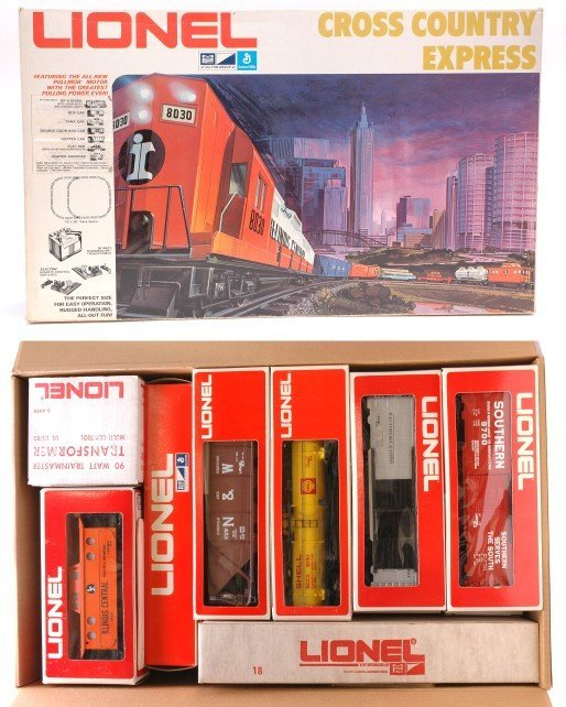 2022: Lionel 1186 Cross Country Express MINT Boxed