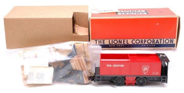 2702: Lionel 55 Tie Jector Motorized Unit LN Boxed