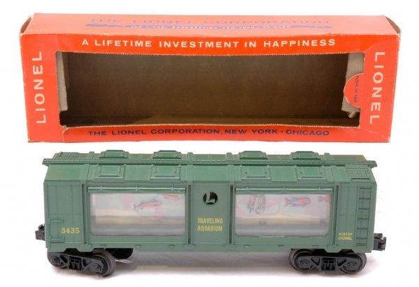 2709: Lionel 3435 Aquarium Car Boxed