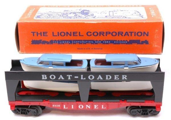 2711: Lionel 6416 Boat Transport Car Boxed