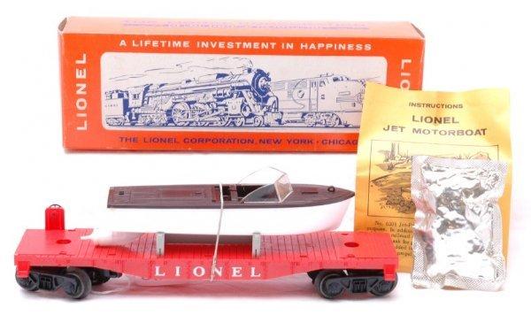 2719: Lionel 6501 Jet Motor Boat MINT Boxed