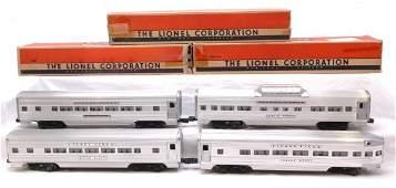 2729: Lionel Aluminum Pass 2534 2533 2532 2531 Boxed