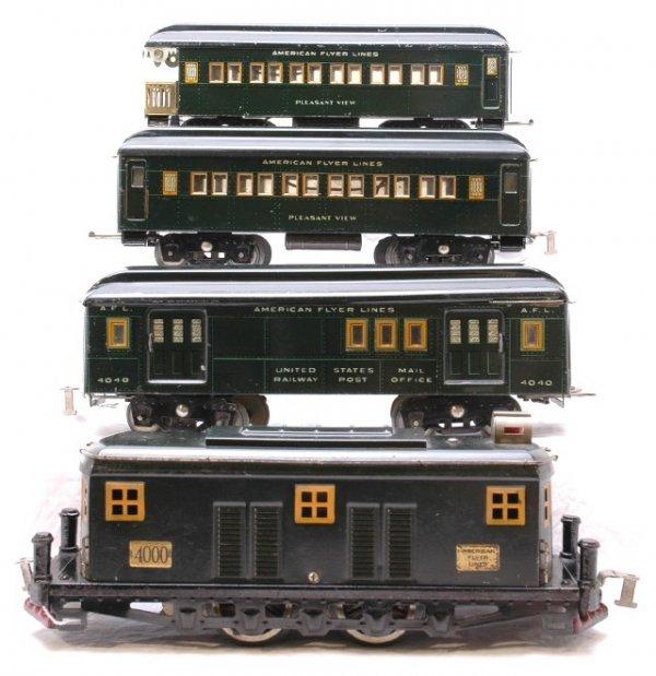 2784: AF Dark Green 4000 Loco with 4040 4041 4042