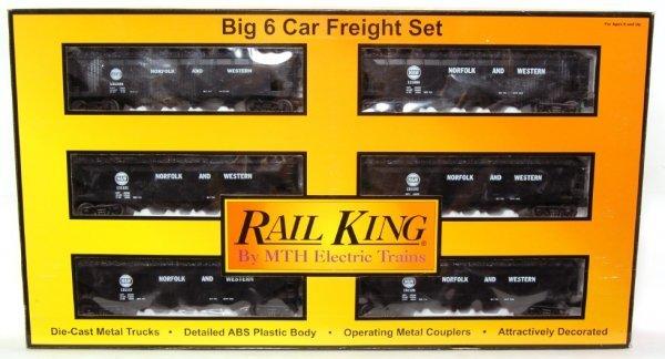 5: MTH Rail King 30-7535 N & W Coal Hopper Set