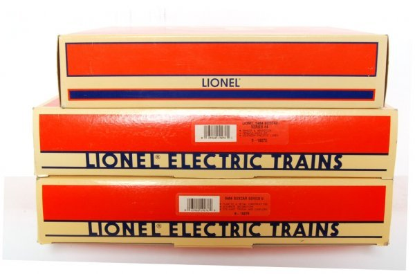 17: Lot of 3 Lionel 6464 Series 19276 19272 29209