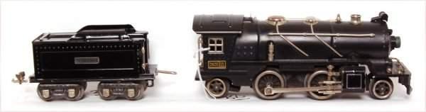 38: Lionel prewar 262E steam loco and tender