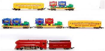 52: American Flyer Circus Train set with 353 loco
